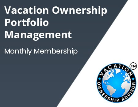 Vacation ownership and portfolio managemnet - Monthly Membership